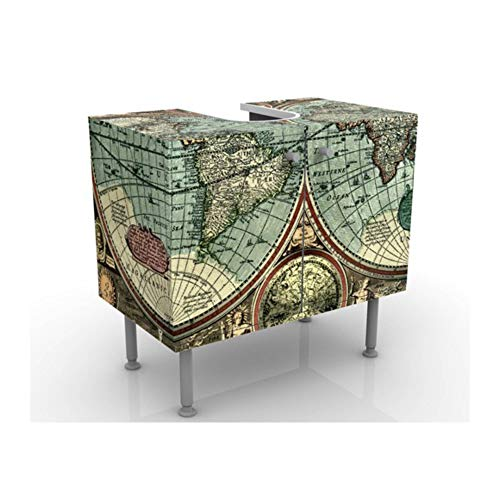 Apalis 52885 Waschbeckenunterschrank Die Alte Welt, 60 x 55 x 35 cm - Alte Welt-stil Möbel