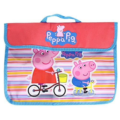 Peppa Pig cat-db-13001 Dokument Messenger Bag (Nick Peppa Jr Pig)