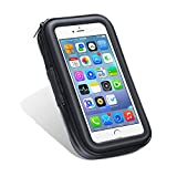 N.ORANIE Waterproof Mobile Phone Bag Case Transparent Touchable Universal Cycling Water-resistant Pouch(Mount Not Included)Compatible for iPhone Samsung HTC Motorola GPS Devices and other Smartphones(XL Size)