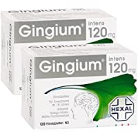 Gingium Intens 120mg Doppelpack,240St preisvergleich bei billige-tabletten.eu