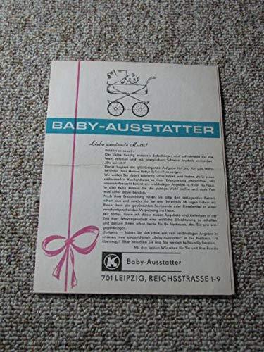 Werbung Baby-Ausstatter inkl. Bestellschein (Postkarten)