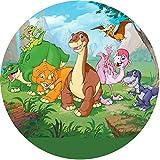 Tortenaufleger Dino4 / 20 cm Ø