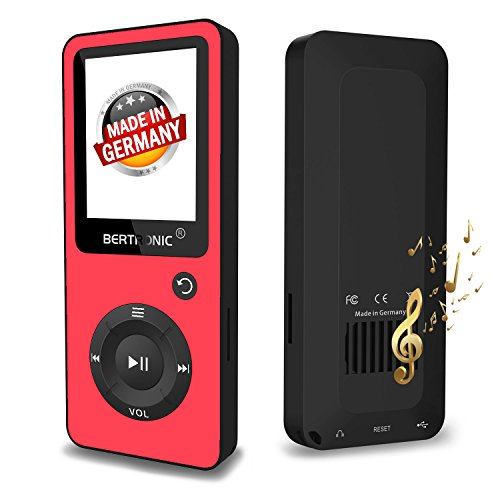 Bertronic BERmp4_bc02_rot MP3-Player, BC-Series Schwarz