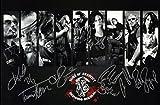 Sons Of Anarchy cast firmato fotografia edizione limitata + stampato Autograph