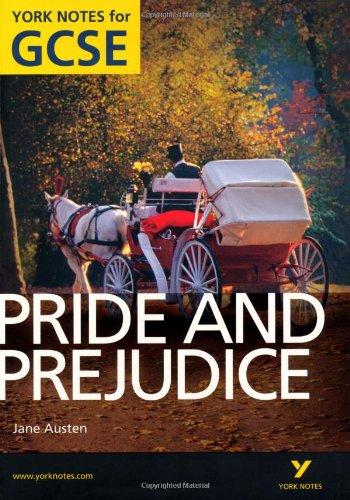 Pride and Prejudice: York Notes for GCSE (Grades A*-G)