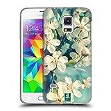 Head Case Designs Weisse Kirschblüten Blumen Ruckseite Hülle für Samsung Galaxy S5 mini