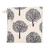 KeandYaoYao Hygiene-Servietten mit süßem Baum Frosch Bär Muster für Frau Sanitär Beige Tree