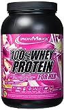 IronMaxx 100% Whey Protein for Her-Geschmack Himbeere-Weiße Schokolade, 900 g