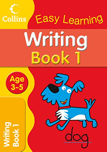 Writing Age 3–5: Book 1 (Collins Easy Learning Age 3-5)