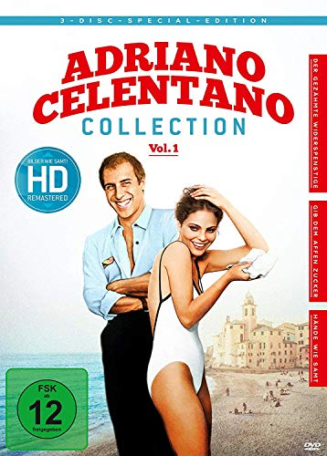 Adriano Celentano - Collection, Vol. 1 [3 DVDs]