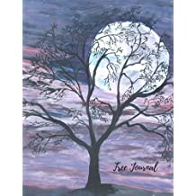 Tree Journal: Large 8.5 by 11 Blank, Empty, Unlined, Unruled Paper Notebook To Write In For Men, Women, Girls, Boys, Kids & Adults. Writing Book Pad With 150  Pages: Volume 14 (Blank Journals)