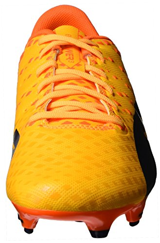 Puma Evopower Vigor 3 Fg, Chaussures de Football Homme Orange (Ultra Yellow-Peacoat-Orange Clown Fish 04)