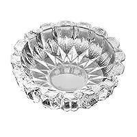 BEAUTYLE Glass ashtray ashtray large round