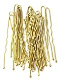 Pack of 36 Short Waved Blonde hairpins 4.5cm