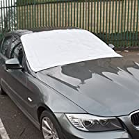 Magnetic Car Windscreen Cover + Pouch - Universal Anti-Frost Windshield Protector - Anti Frost Shield - Freeze, Ice, Snow & Bird Poo Protection preiswert