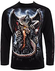 Spiral Direct Dragon Lava Shirt Manches Longues (Noir)