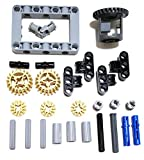 LEGO Technic Differential Gear Box kit (Gears, pins, axles, connectors) 27 Pieces by