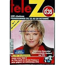 TELE Z [No 1206] du 22/10/2005 - LAURENCE BOCCOLINI - MLLE JOUBERT.