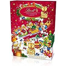 Lindt Calendrier de l'Avent Ours Chocolat Noël - 172g