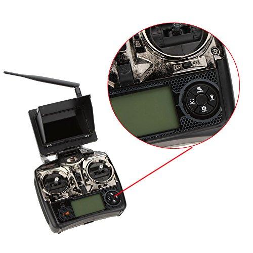 WLtoys V666 5,8 G FPV 6 Achse 4CH RC große Quadrocopter Quadcopter UFO mit 2.0MP HD Kamera und Monitor RTF - 4