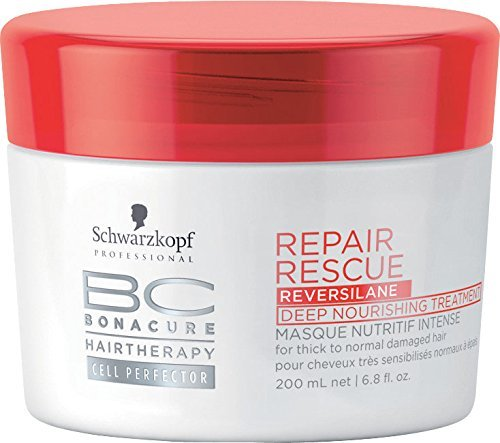 Schwarzkopf Bonacure Repair Rescue Deep Nourishing Treatment, 1er Pack, (1 x 200 ml) -