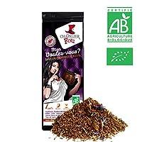 Rooibos caramel cassis bio - Sachet Vrac 100g - ? Certifié Agriculture Biologique ?