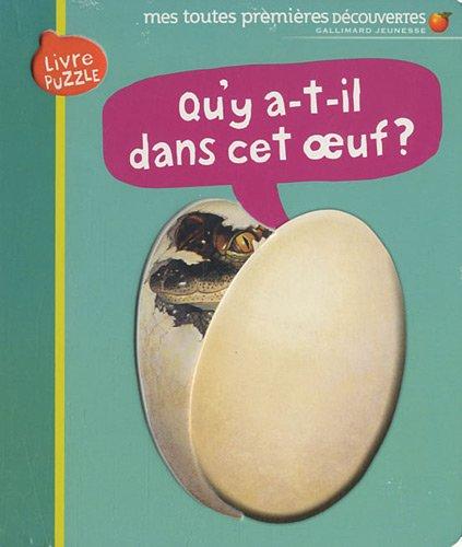 Qu'y a-t-il dans cet œuf?