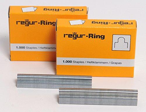 Regur RR8mm 1.000 Ring Heftklammern (8mm) für Rink King RK-1