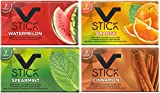 V Stick Chewing Gum combo pack Watermelon, Orange, Cinnamon, Spearmint