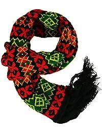 b759665e7cd9 Urban Dealer - Echarpe - Imprimé Aztèque - Homme noir noir Taille Unique