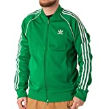 adidas SST Originals Jacke Herren, Green, XL