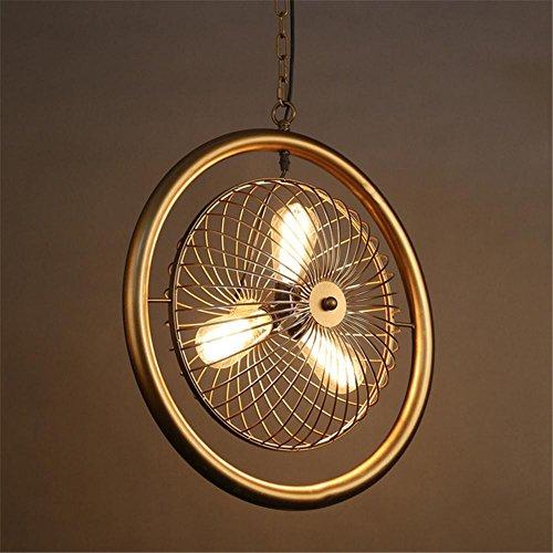 H&M Indoor Leuchten Kronleuchter Eisen-Fan Pendelleuchte Schlafzimmer Wohnzimmer Bekleidungsgeschäft Beleuchtung Kronleuchter Beleuchtung - Bronze Traditionellen Indoor-fan