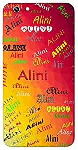 Alini (Life) Name & Sign Printed All over customize & Personalized!! Protective back cover for your Smart Phone : Moto G-4
