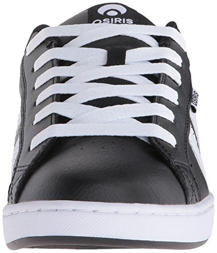 Chaussure Osiris Loot Noir-Noir-Gum Noir/blanc