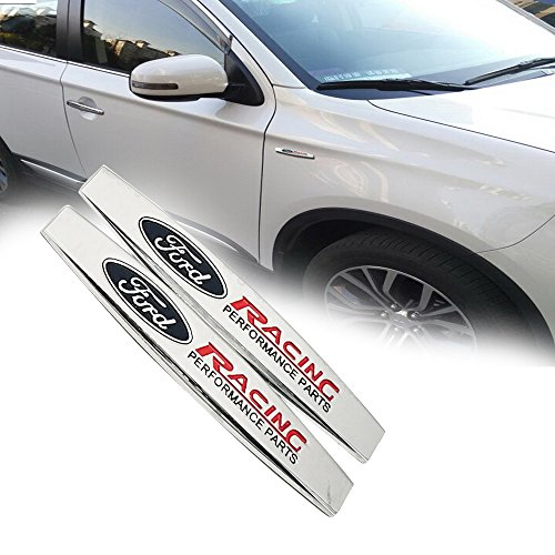 o Aufkleber Autosticker Autoaufkleber Edelstahl Ford logo ()