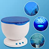 Ocean Pot Daren Waves Speaker Projector Projected Swinging light Lamp
