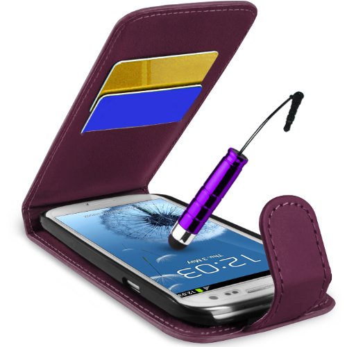 supergetsr-samsung-galaxy-s3-i9300-purple-top-flip-case-covers-screen-protec