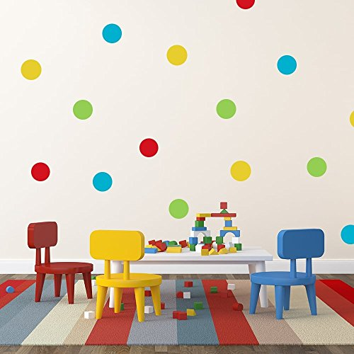 Image of Wall Chimp Mr Tumble Colourful Spots Sticker Pack