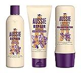 Aussie Repair Miracle - Set di shampoo per riparazioni dei capelli