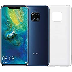 "Huawei Mate 20 Pro (Blu) più Cover Originale, Telefono con 128 GB, Display Oled 6.39"" QHD+, Processore Octa Core dinamico con Intelligenza Artificiale"