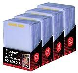 4Ultra Pro Regular Top Loader Pack W/Gold Rookie Folie Print 81180Digital–25toploaders Pro Packung (100insgesamt)–Standard Größe Baseball, Basketball, Fußball, Hockey