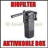 HAILEA HL-BT 1000 Innenfilter inkl Aktivkohle-Box 1000 L/H Filter Süß Meerwasser