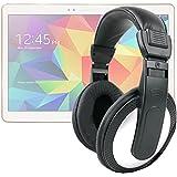 """Casque audio pour tablettes Samsung Galaxy Tab S2 8"""" (SM-T710 & T715) et Tab S 2 écran 9,7"""" (SM-T810 & T815) - gestion du volume intégrée - DURAGADGET"""