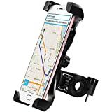 Datsanks Premium Quality Universal Bike Holder 360 Degree Rotating Bicycle Holder Motorcycle Cell Phone Cradle Mount Holder For All Size Mobile Phones