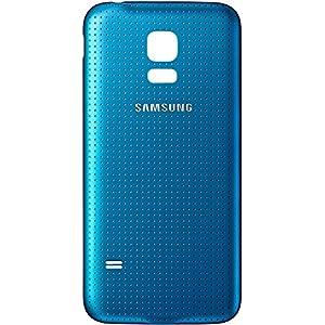 Original Samsung Akkudeckel electric blue / elektronisch blau für Samsung G800 Galaxy S5 mini (Akkufachdeckel, Batterieabdeckung, Rückseite, Back-Cover) - GH98-31984C
