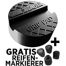 Grip & Bender Cric-Coussin Pad-universel en caoutchouc Coussin-Tampon en caoutchouc pour élévateurs