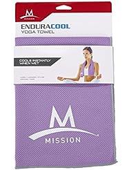 Mission Endura Cool Femme Yoga Serviette de refroidissement Refroidissement Cooling Towel Serviette immédiate refroidissement