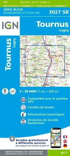 Tournus / Lugny gps par IGN Institut Géographique National