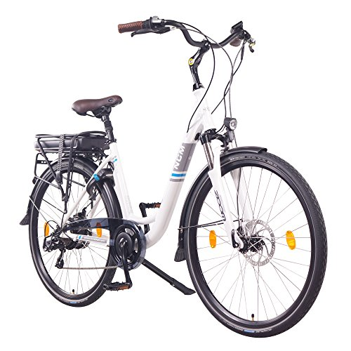 "NCM Munich 28"" E-Bike City Rad, 250W, 36V 13Ah 468Wh weiß"