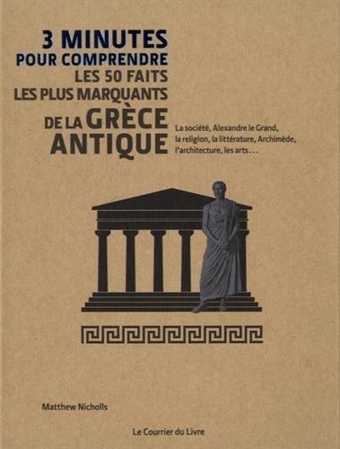 3 minutes pour comprendre les 50 faits les plus marquants de la Grèce antique